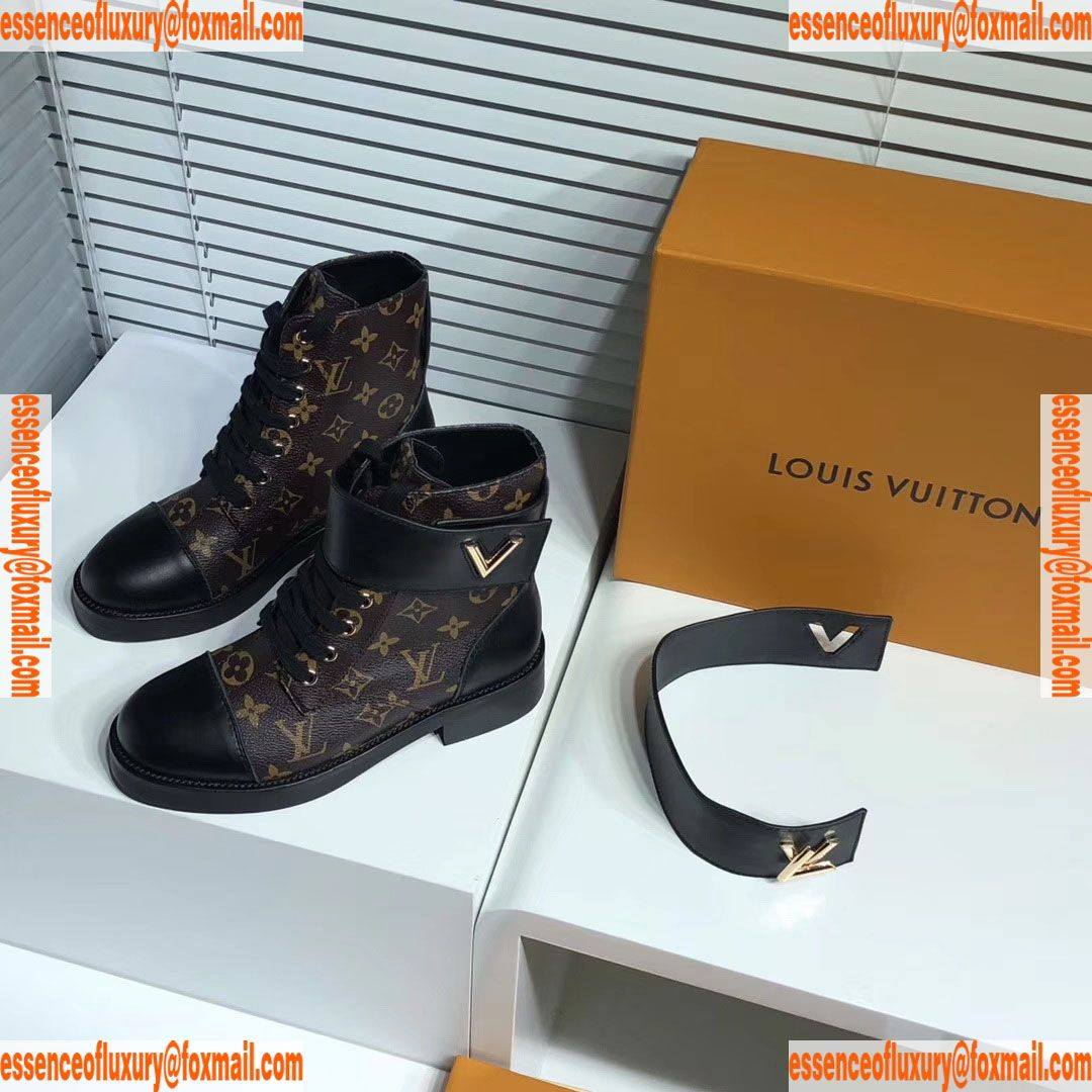 65186a5651c3 Louis Vuitton Wonderland Flat Ranger Ankle Boot LV Luxury Shoes 35 To 40  A151PP450 AA73677