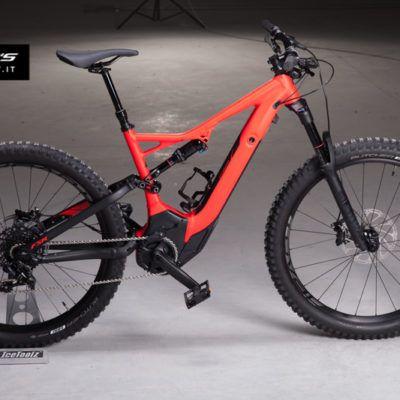 Rosso Nero Turbo Levo Fsr Comp 6fattie 2018 Bikersitaly Electric Mountain Bike Bike Turbo