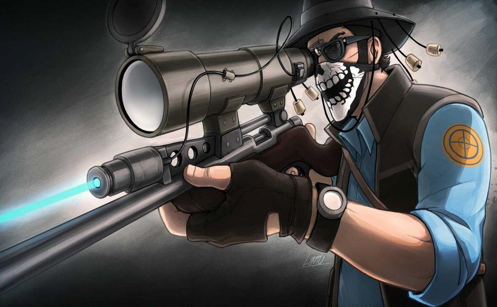 Team Fortress 2 Sniper Hd Wallpaper Team Fortress Team Fortress