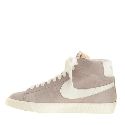 reality: Nike® Blazer high suede vintage sneakers for J. With sneakers as  the new