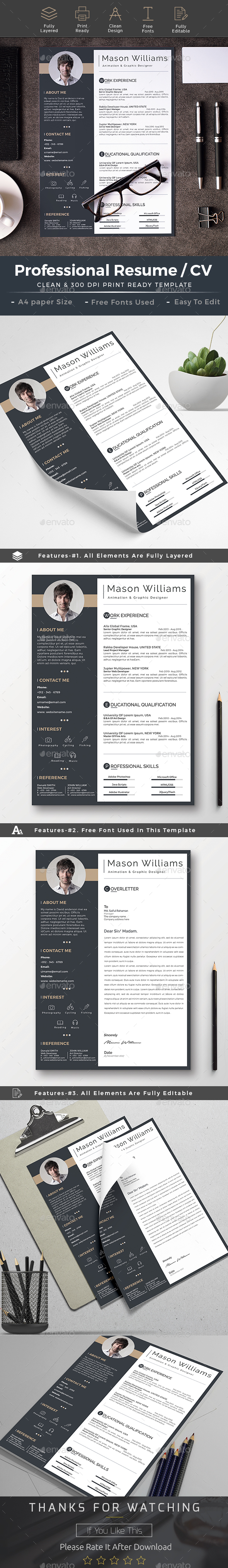 Resume cv word Resume template free, Job resume template