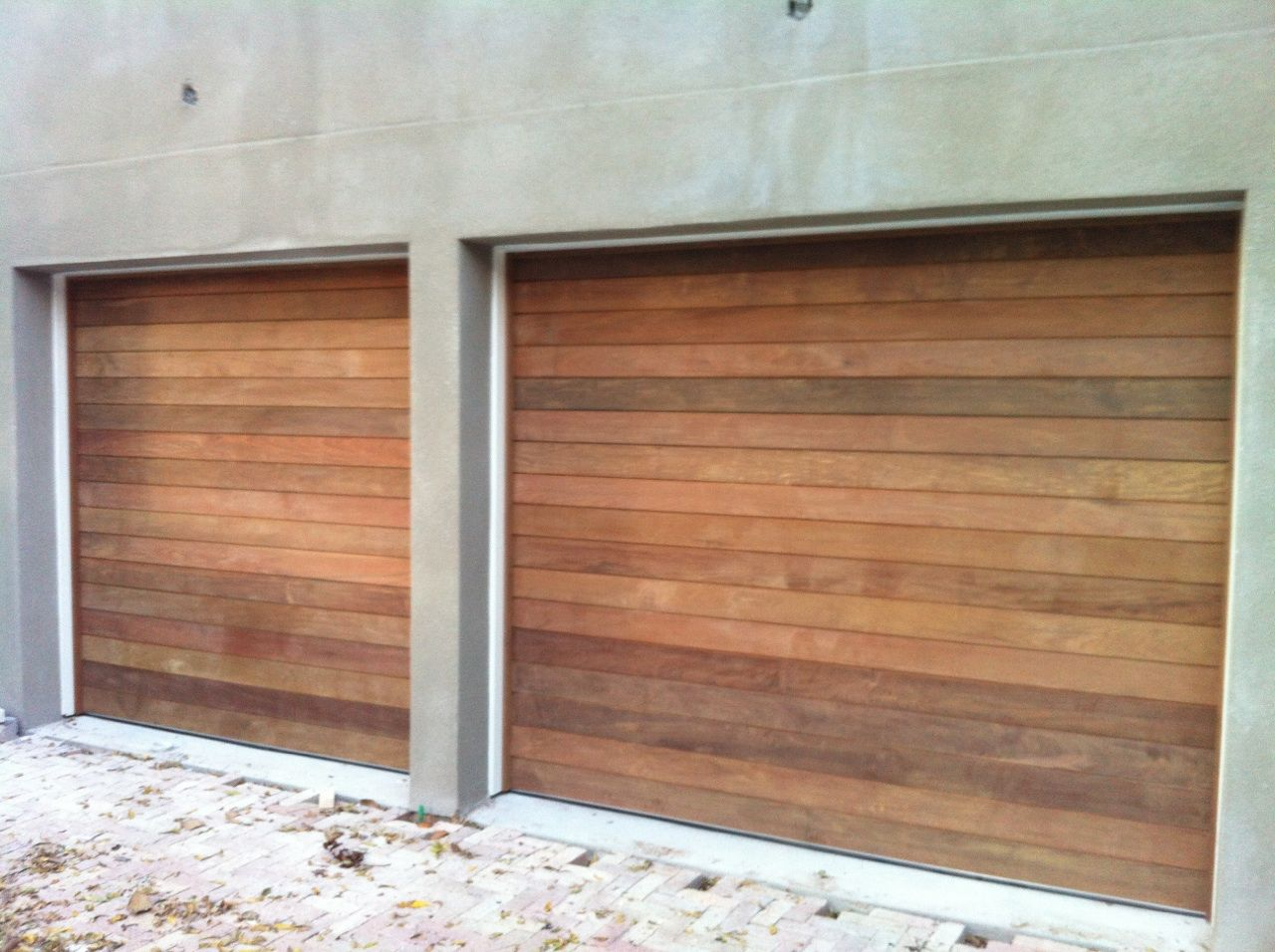 Sleek Modern Garage Doors Hand Crafted By Greg Fletcher Wooden Garage Doors Modern Garage Doors Modern Garage