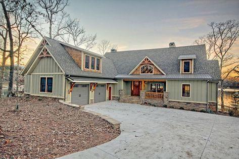 home remodel exterior ranch #homerenovationexteriorbrick