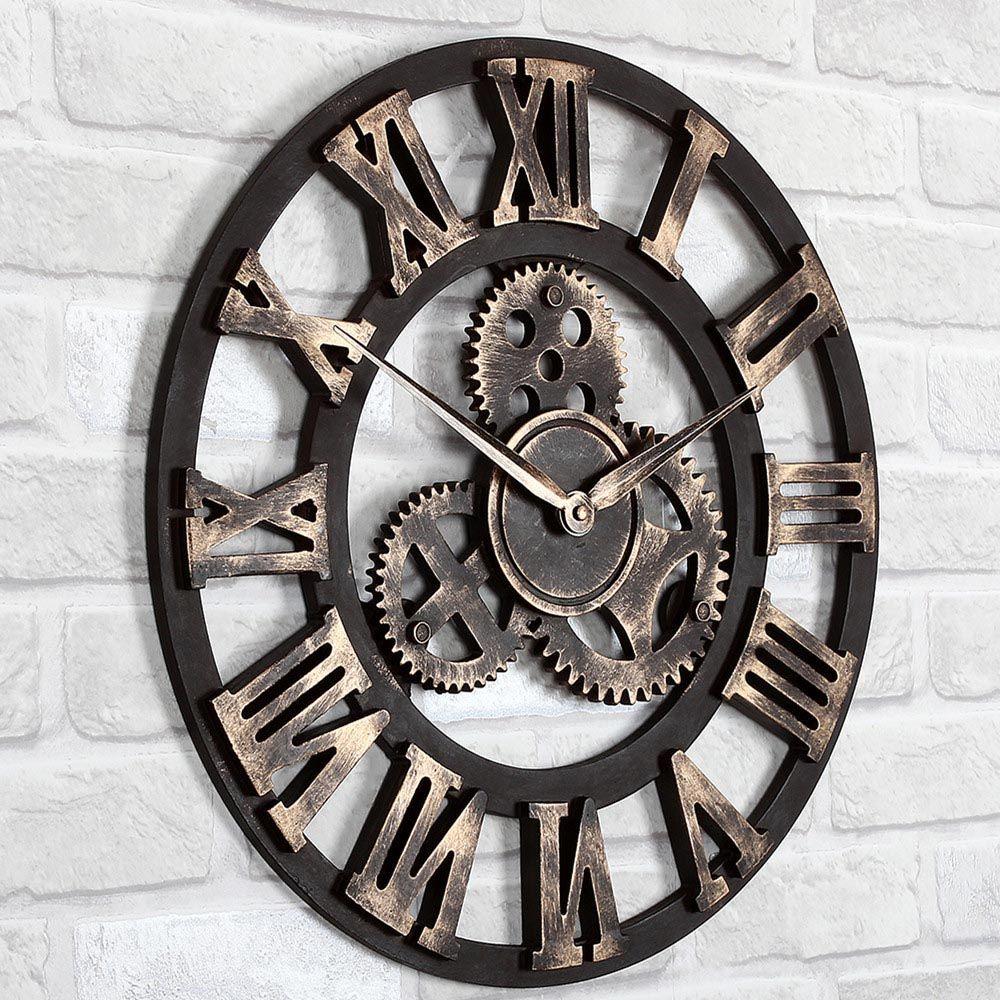 Big Decorative Wall Clocks Large Wall Clock Large Vintage Wall Clocks Vintage Wall Clock