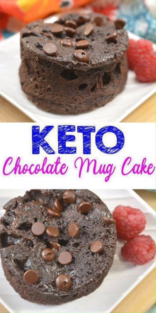 BEST Keto Mug Cakes! Low Carb Microwave Flourless ...