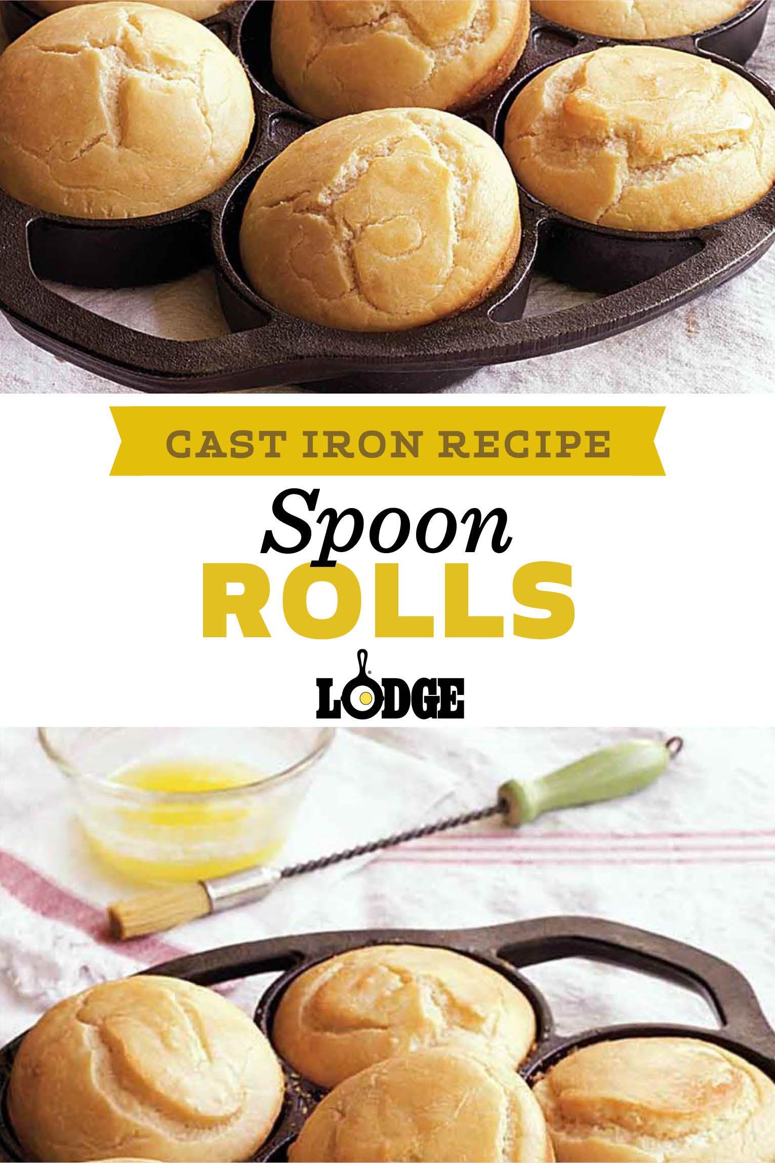 Spoon Rolls Recipe Food Recipes Mini Cake Pans Baking