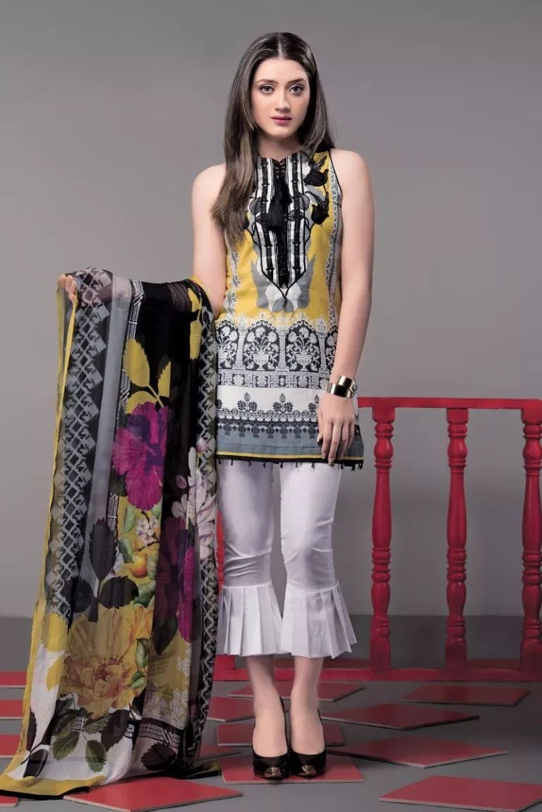 fac25c0894 This season, Ethnic by Outfitters Festive Collection 2018 flutters between  traditional fantasy and classicism. You will be maharani in your own when  you ...