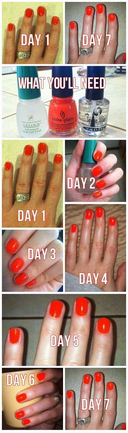 DIY Gel Manicure with NO Lamp! - Let\'s Talk About Lipstick | Nail ...