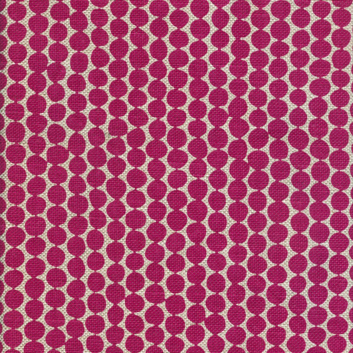 Hable Classic Beads Magenta Wheat Dotted Fabric Fabric Classic Rugs Pattern Play