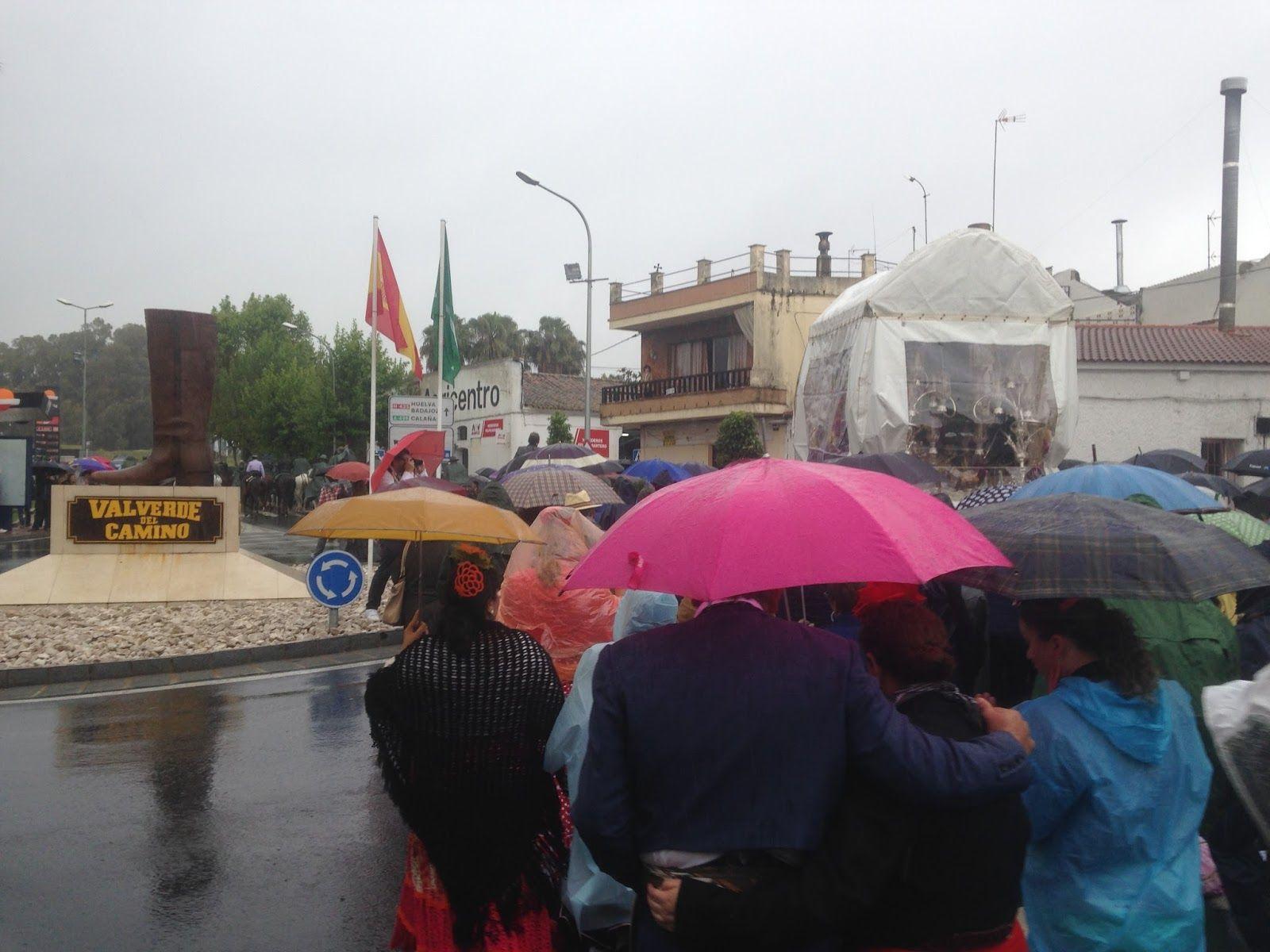 H. del Rocio de Valverde salida bajo agua