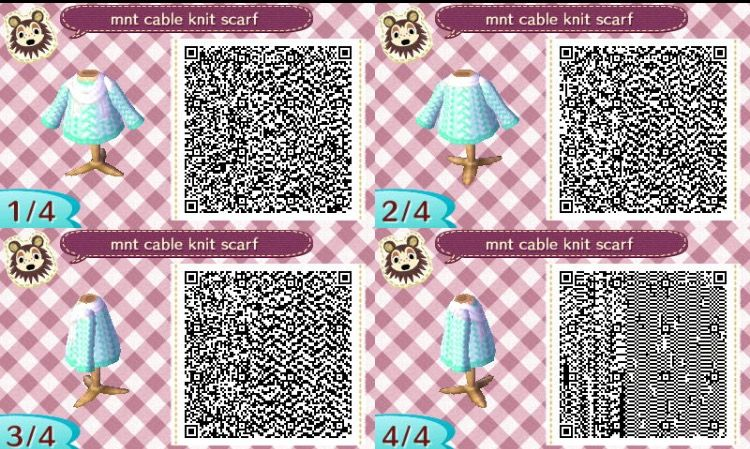 Pin by Ashlee Bowen 🍪 on Acnl qr codes (With images