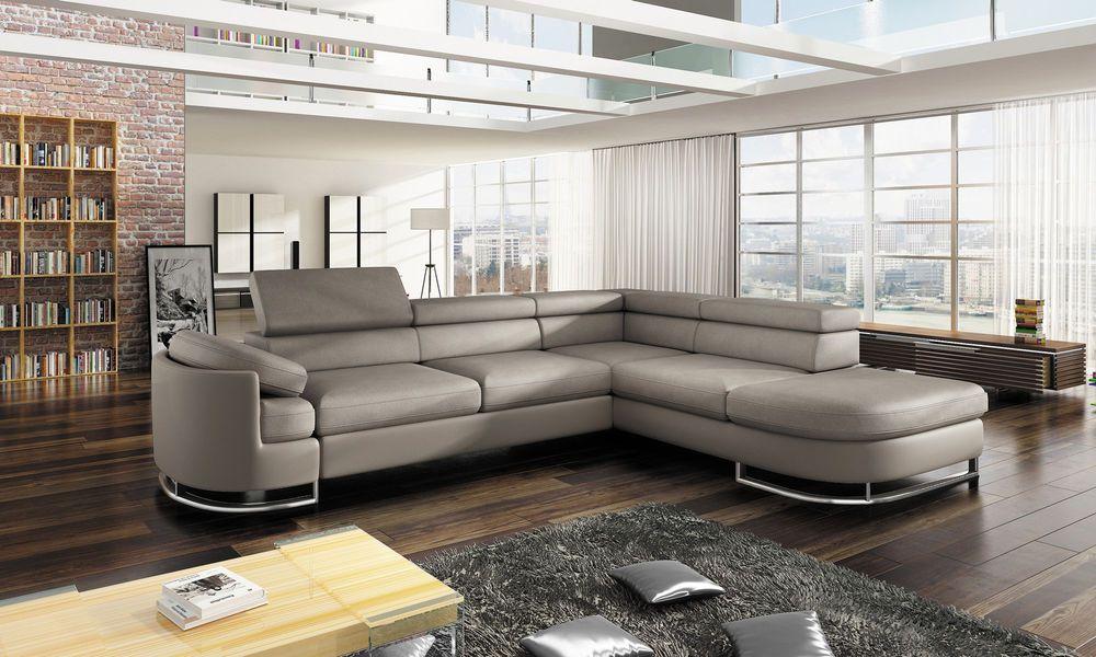 Sofa Couchgarnitur Ice Couch Sofagarnitur Wohnlandschaft