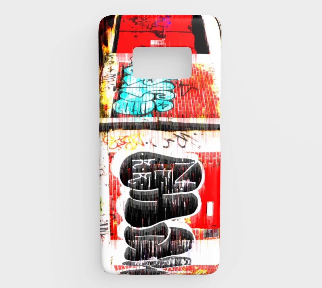 Graffiti Glitch Galaxy S8 in 2019 | My Art Work - Phone