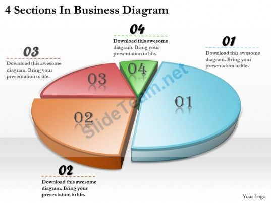 Business Ppt Diagram  Sections In Business Diagram