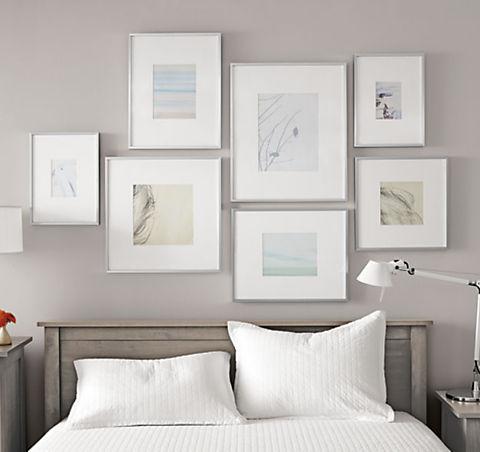 Arrange A Modern Frame Wall Ideas Advice Room Board Frames On Wall Modern Frames Photo Frame Wall
