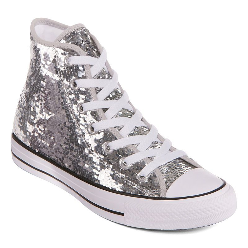 Converse Chuck Taylor All Star High Top Sequin Womens