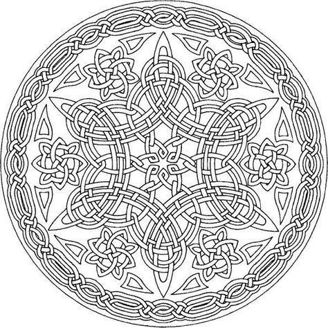 Mandala Lijnen Varazslat Mandala Coloring Pages Mandala
