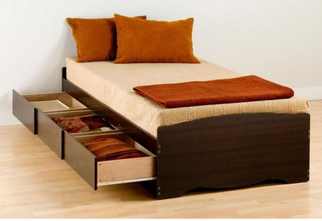 Bedframe With Storage Ikea Bed Bed Furniture Storage Bed