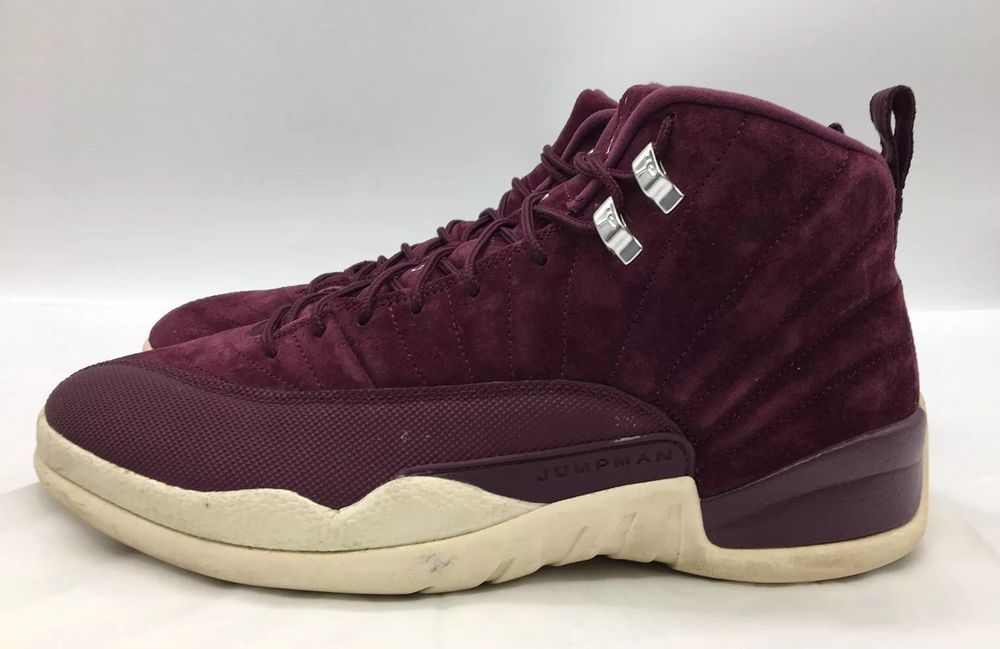 97c6eb11109ad1 Mens Nike Air Jordan 12 Retro Bordeaux Burgandy Suede 130690-617 Size 13   fashion  clothing  shoes  accessories  mensshoes  athleticshoes (ebay link)