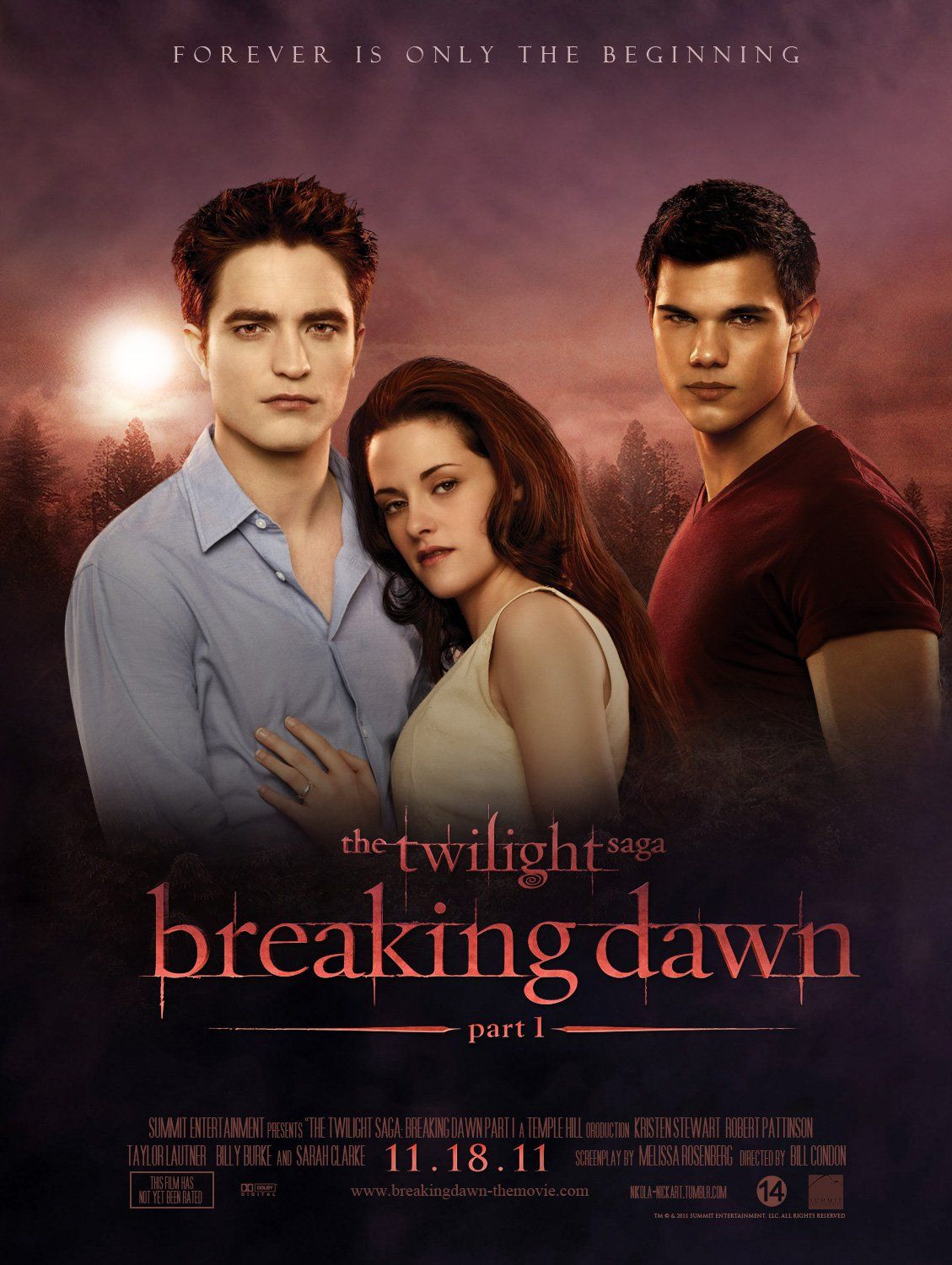 Image result for Twilight: Breaking Dawn Pt. 1 poster