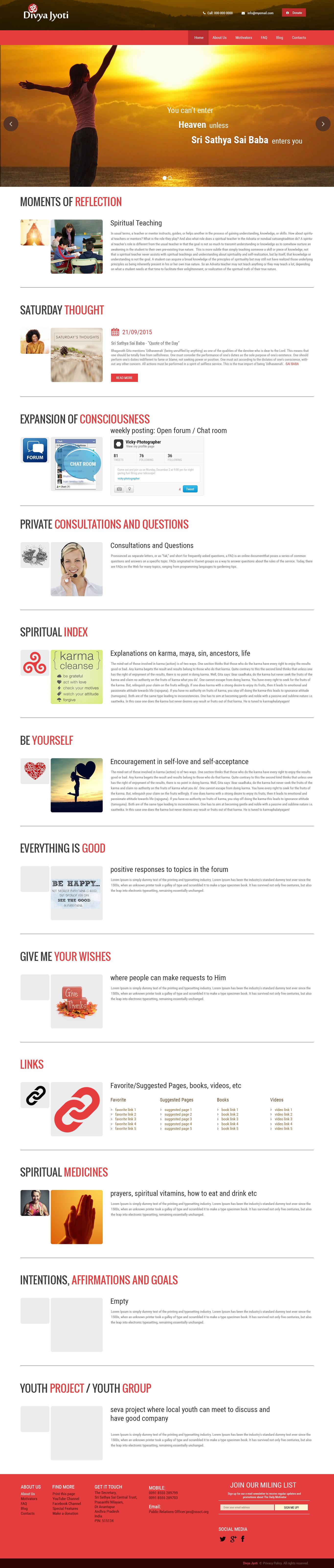 Spiritual Teaching-1