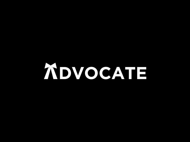 Advocate Wordmark Lawyer Logo Design Law Firm Logo Design