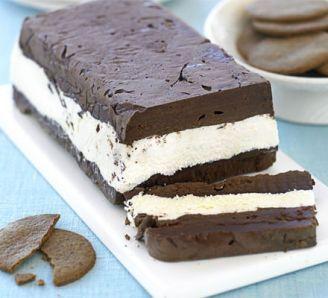 White & dark chocolate terrine   Recipe   Chocolate ...