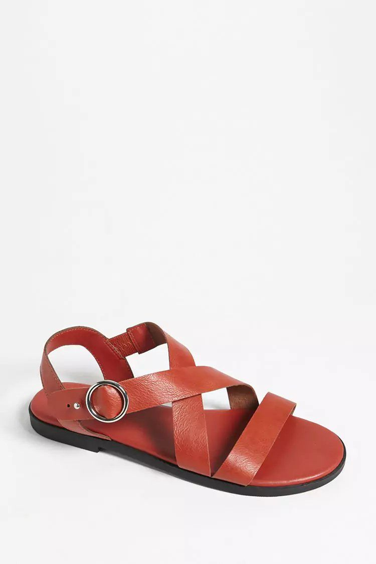 ee069f943806 Crisscross Faux Leather Sandals