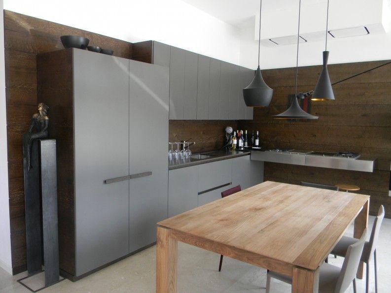 cucina in acciaio e legno | cucine | Tom Dixon | piano cottura ...