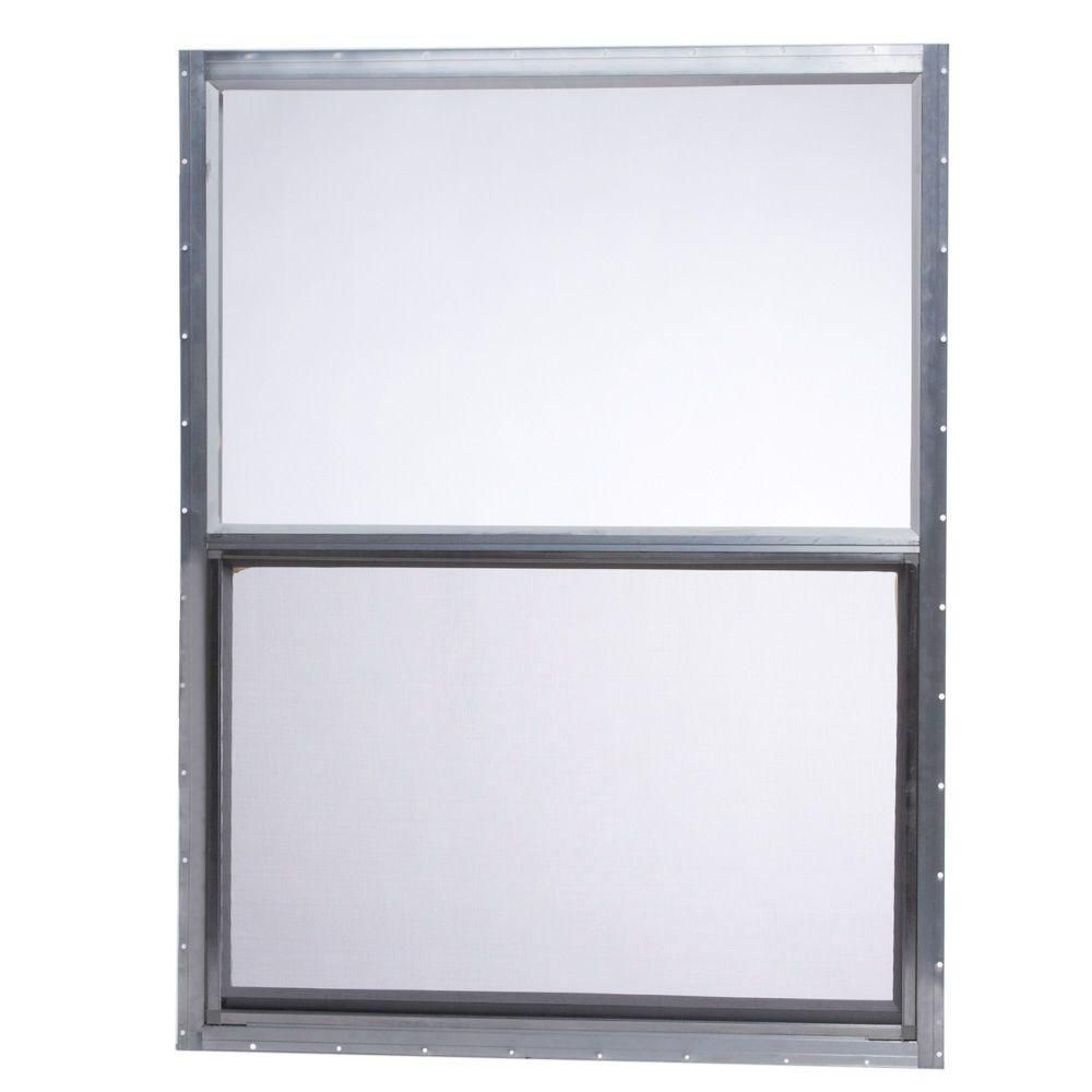 Tafco Windows 30 In X 40 In Mobile Home Single Hung Aluminum