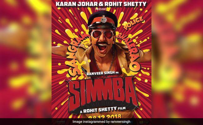 Ranveer Singh upcoming Movie Simmba first look in Release ...