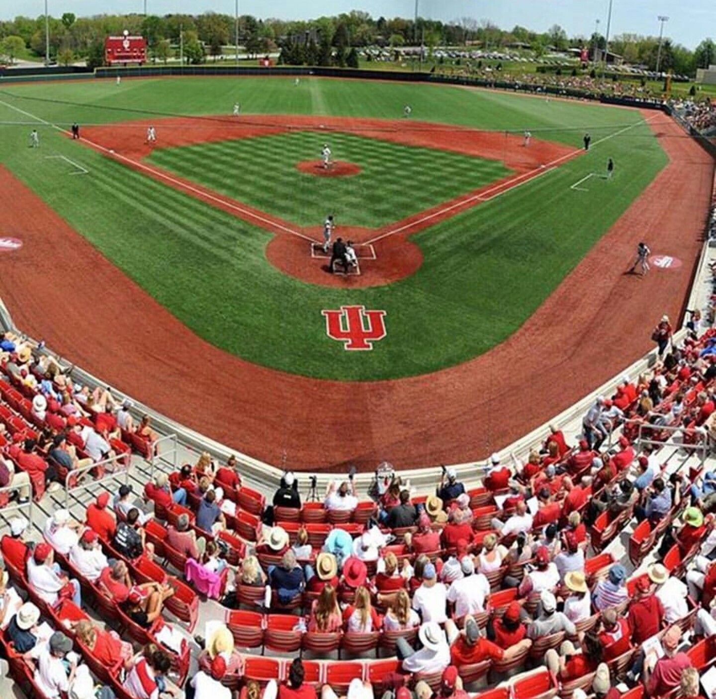 Pin By Randy Champion On Hoosiernation Indiana University Baseball Field College Baseball