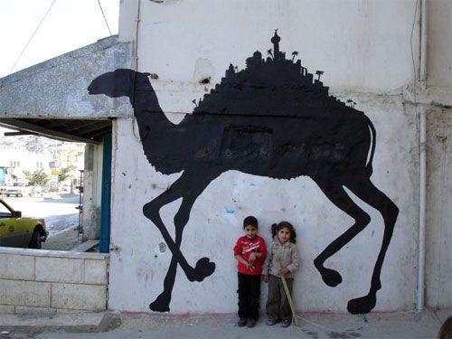 #streetart Camel by Santas