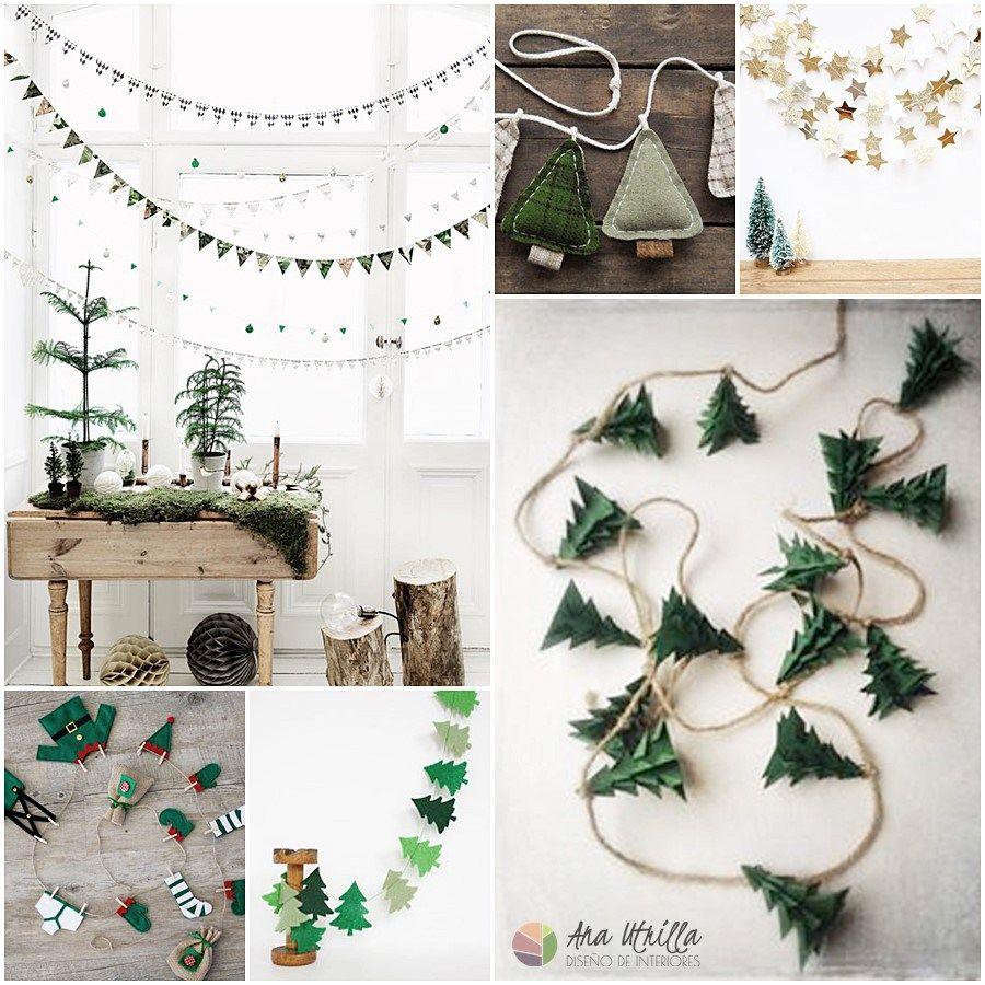 Guirnaldas De Navidad Imagenes.Guirnaldas De Navidad Hechas A Mano Proyectos Diy Para
