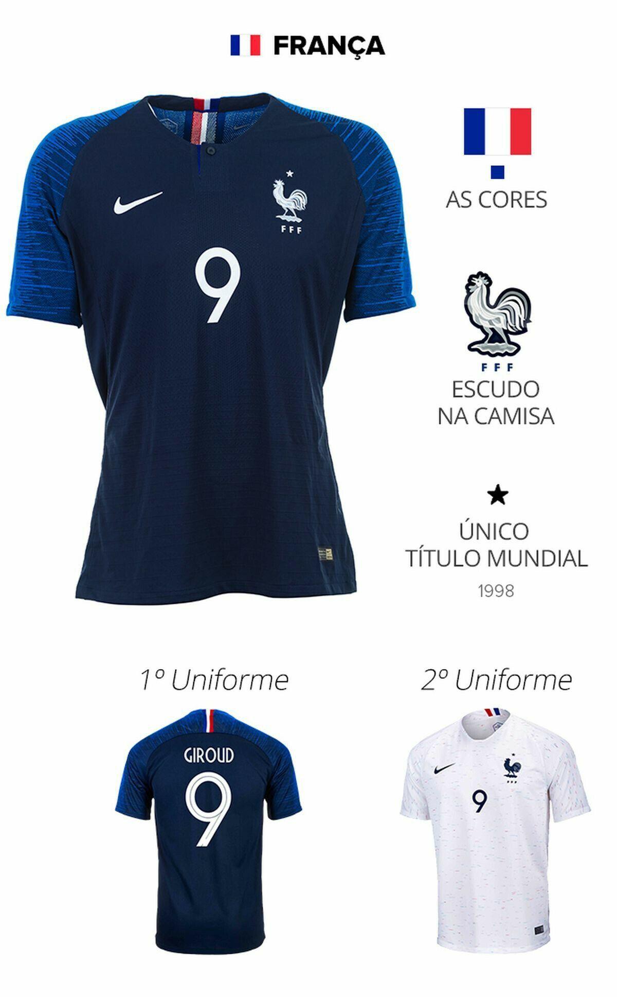 França Camisa Da França 96f3cdc08aa89