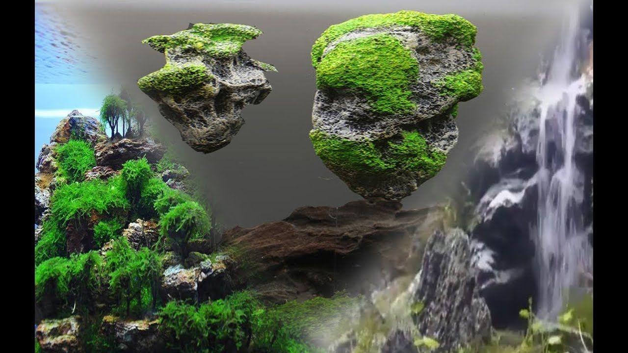 3 Ideas Geniales Para Tu Acuario Cascada De Arena Rocas