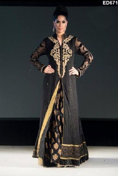 Banarsi Kleid Stil Anarakli Kameez von Kunsthandwerkfüralle auf ...