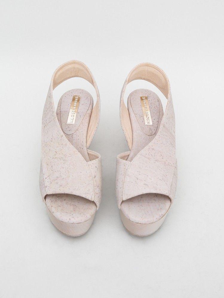 Sandal Chaussure Oak Shoes Sydney Platform Marron qRwznSCa