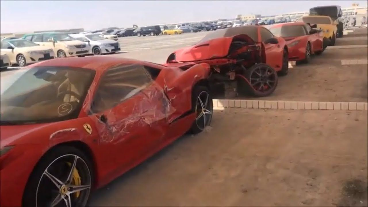 Abandoned Cars In Dubai Multi Billionaire S Edition Ferrari Bentley Audi Abandoned Cars In Dubai Abandoned Cars Dream Cars Jeep