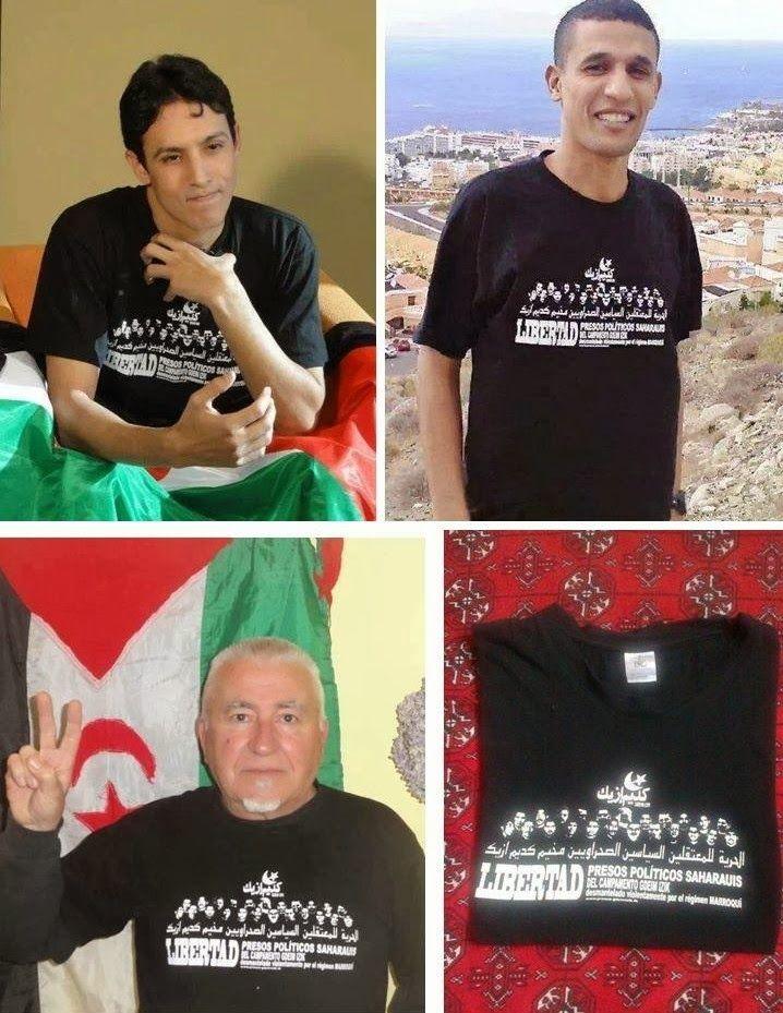 Poemario por un Sahara Libre  Venta de la camiseta de los presos políticos  de Gd.. 3d14c2a22aa