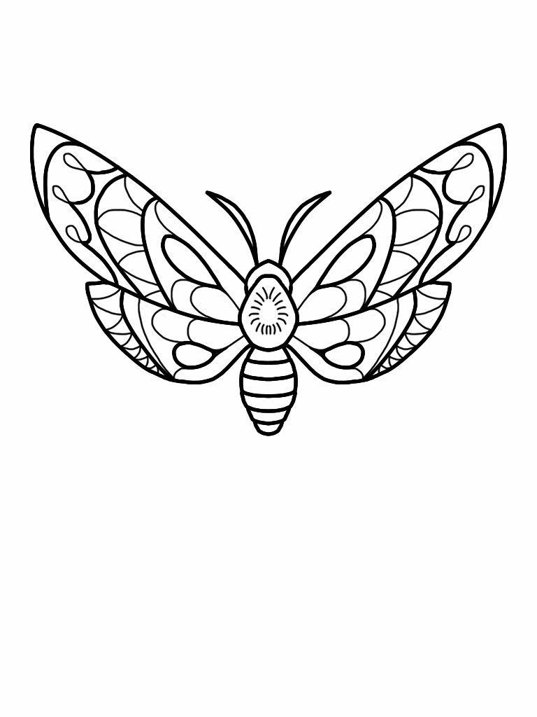 Moth tattoo flash design | Tattoo flash art, Stick figure ...