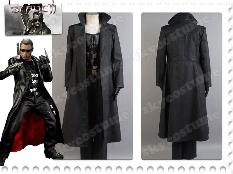 >> Click to Buy << Blade Wesley Snipes Cosplay Costume the Vampire Slayer Costumes For Halloween Party Coat Vest Pants Gloves #Affiliate