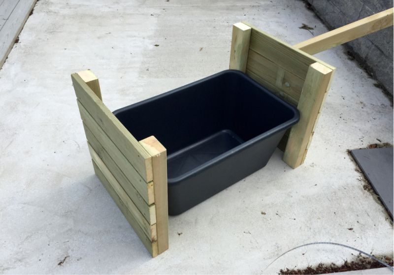 Photo of DIY: Blomsterkasse med hjul