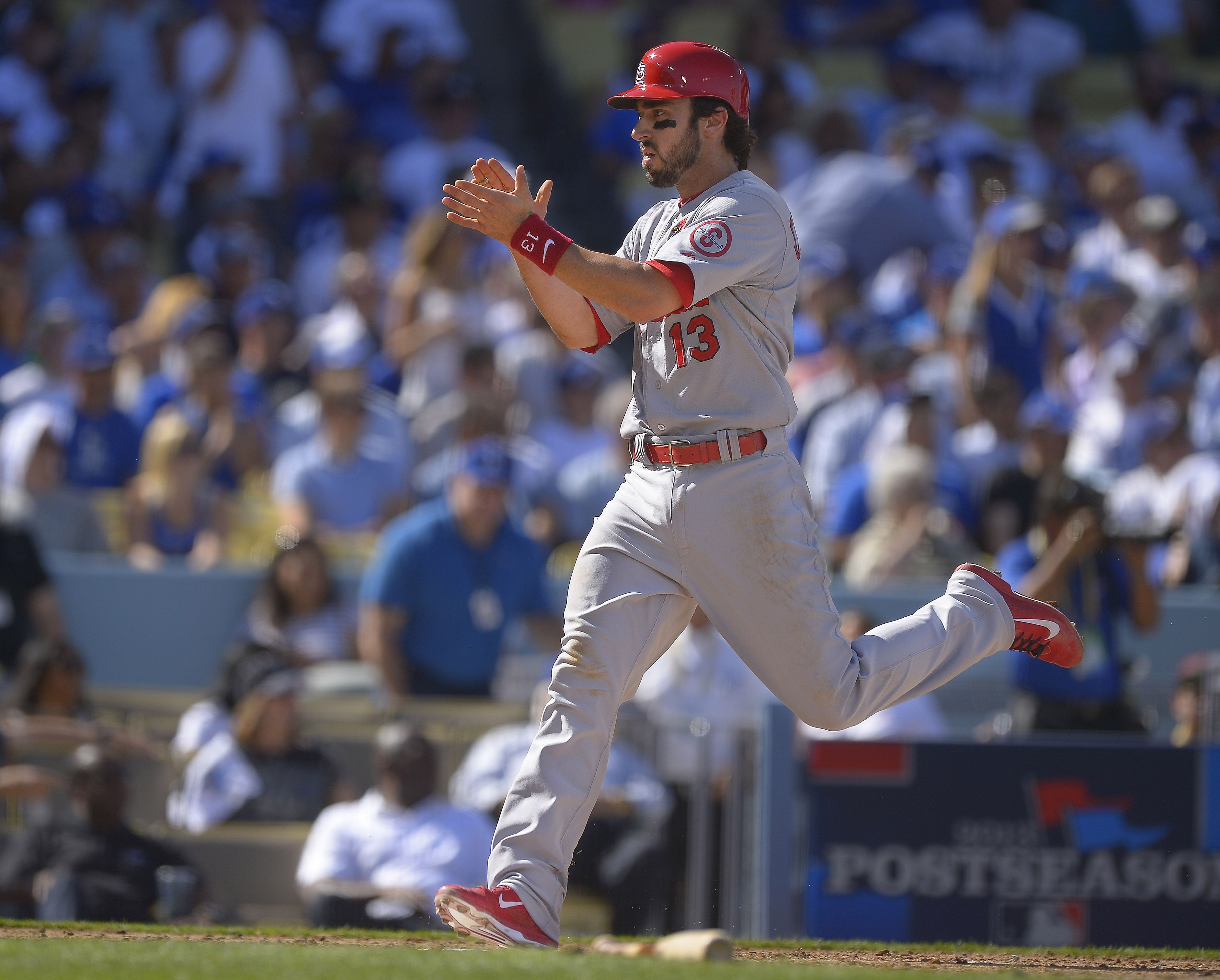 Greinke, Dodgers beat Cardinals 64 to extend NLCS St