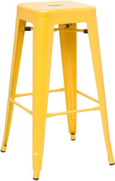 Metal Bar Stool Yellow Prototipuri Pinterest Bar