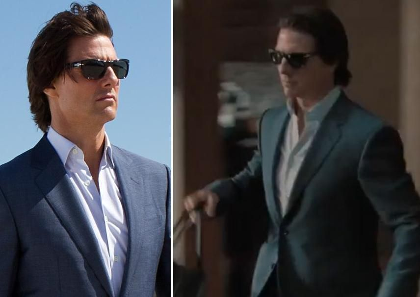 MI4 MISSION IMPOSSIBLE 4 Tom Cruise PERSOL ° Luxottica