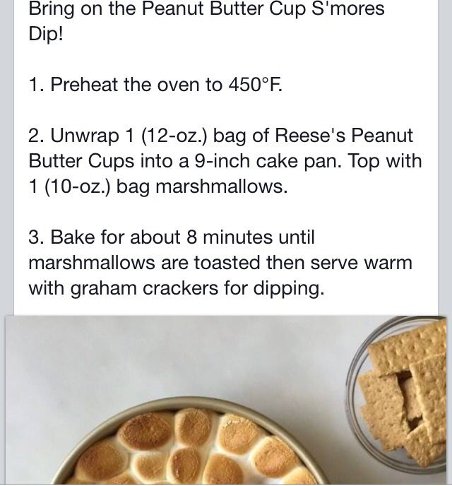 Indoor Smores with Reeses PB Cups!
