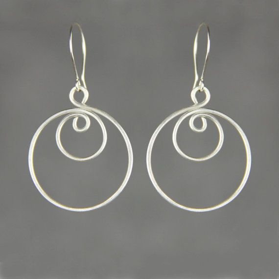 Sterling silver wiring double Hoop Earrings Bridesmaid gifts ... on horn jewelry, coil jewelry, grounding jewelry, gauges jewelry, alice jewelry, frame jewelry, security jewelry, welding jewelry, jade jewelry, genie jewelry, design jewelry, fan jewelry, wire jewelry, plugs jewelry, julia jewelry, computer jewelry, hollywood jewelry, cable jewelry, harness jewelry,