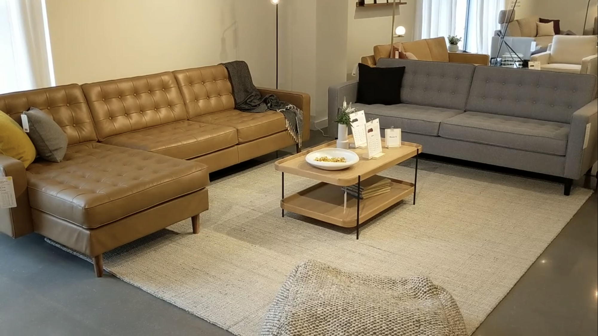 Reverie Low Arm Rhf Apartment Sofa In Carnival Lager