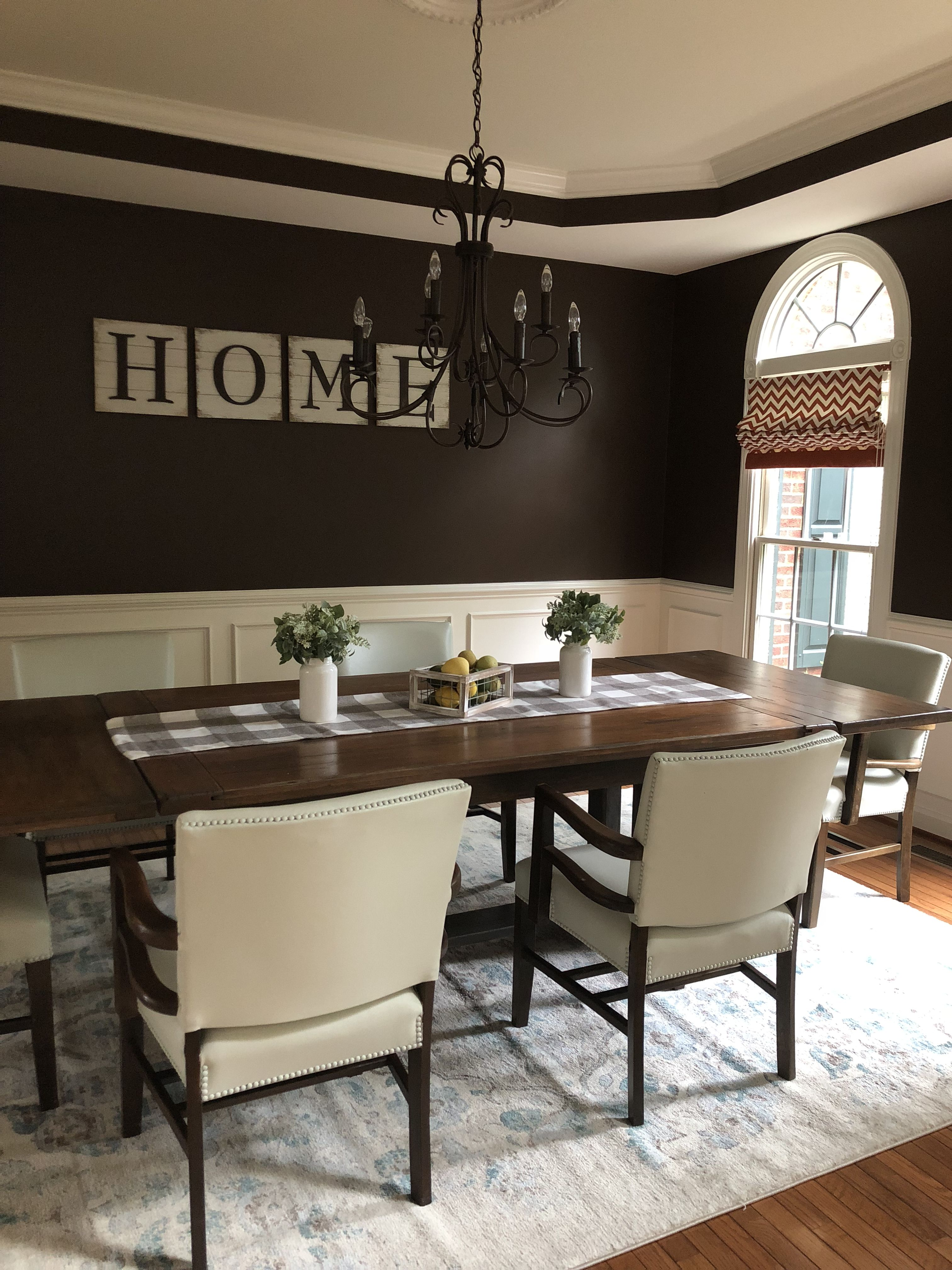 chalk paint leather chairs from originally black painted an off rh pinterest com